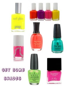 neonnailpolishcollage